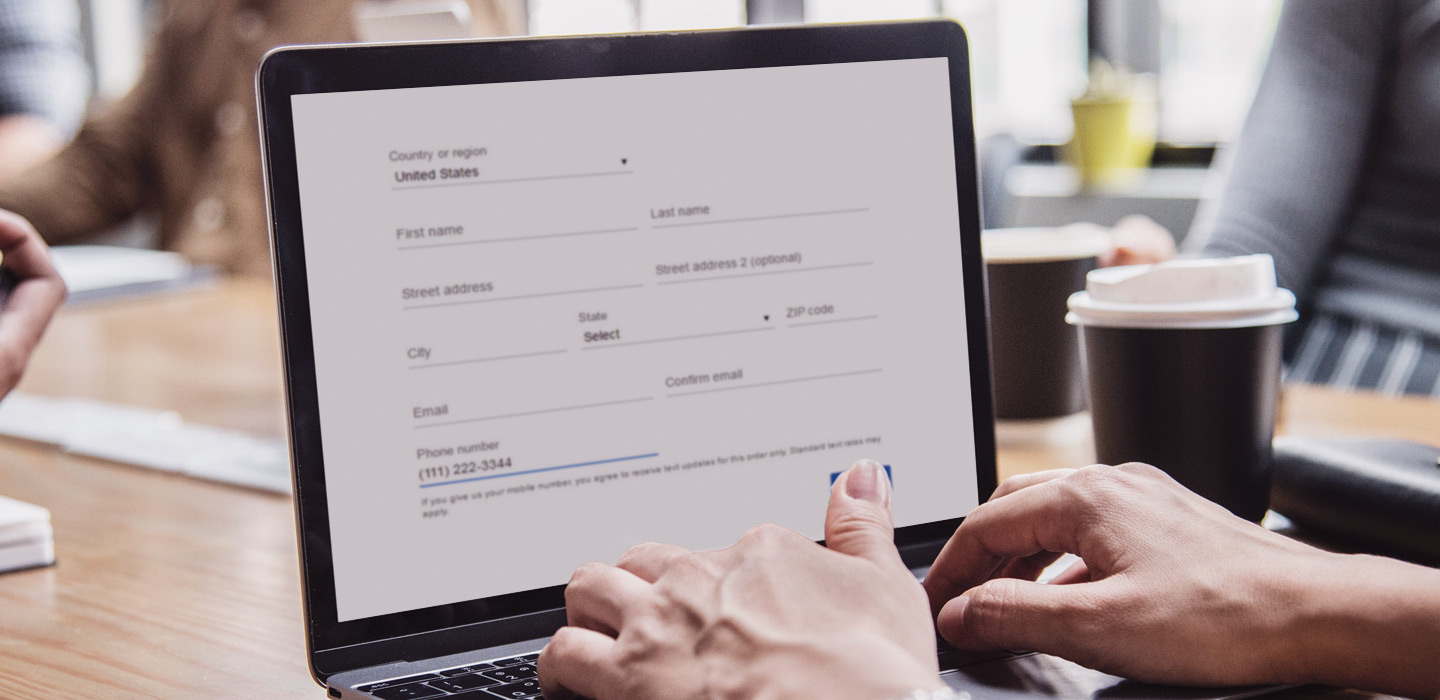 9 great UX tips for the best website forms