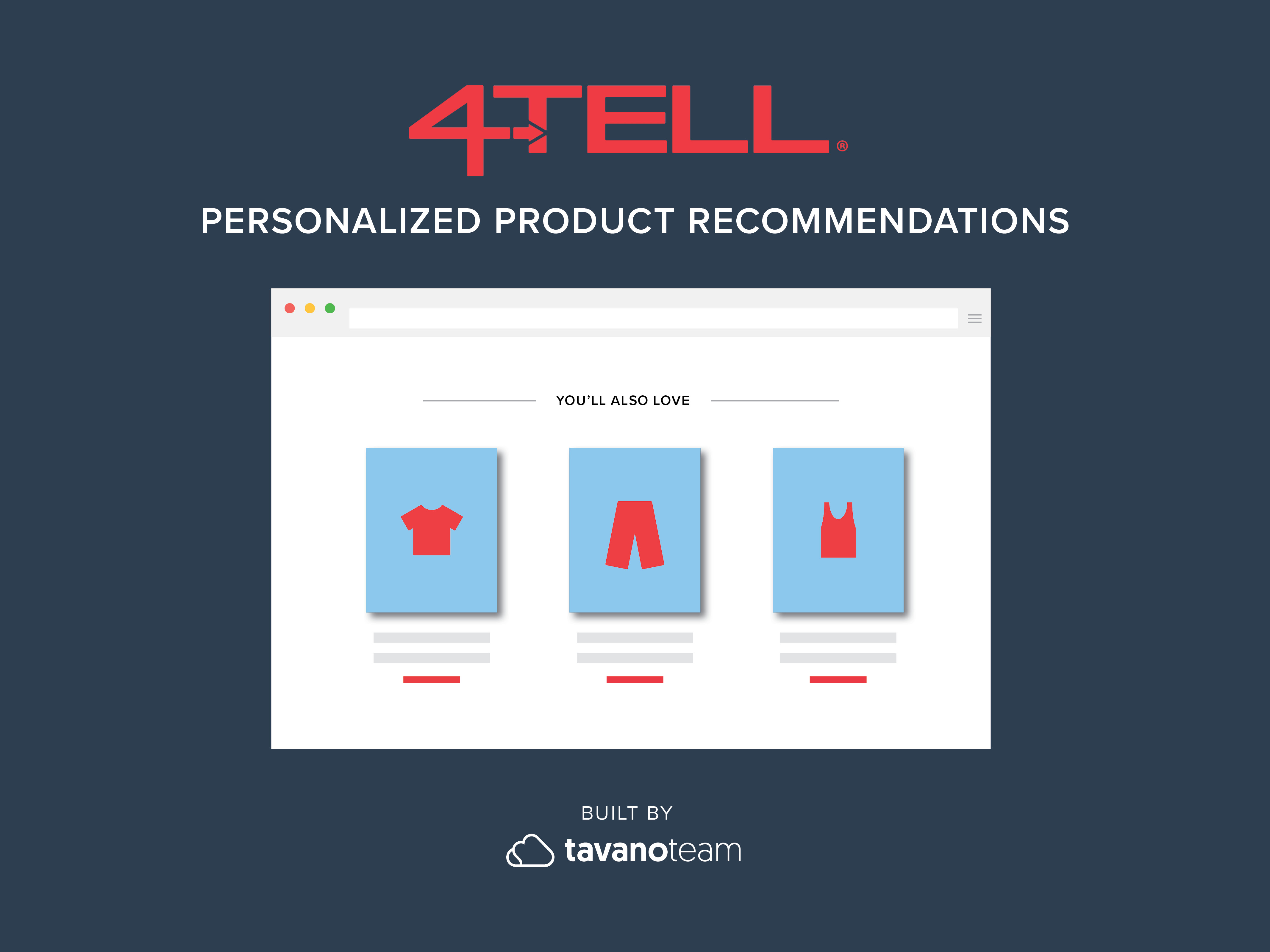 4-Tell-Personalization SuiteCommerce Tavano Team NetSuite