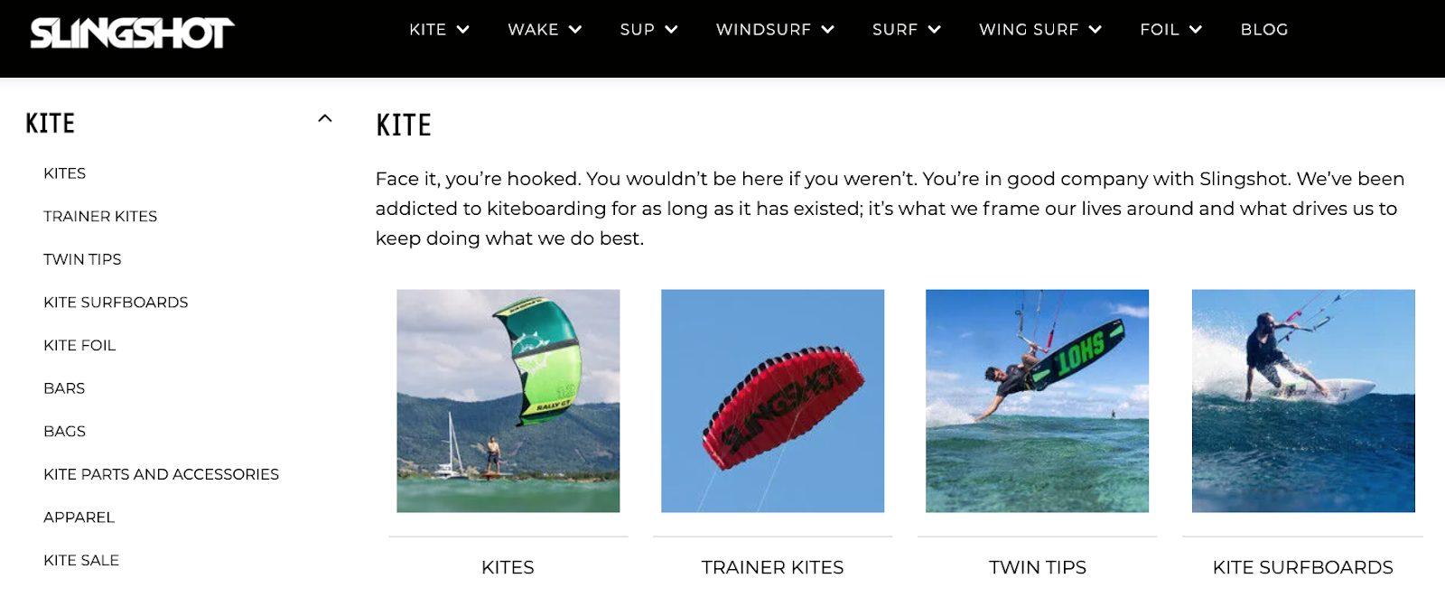 top suitecommerce merchandising features category landing page