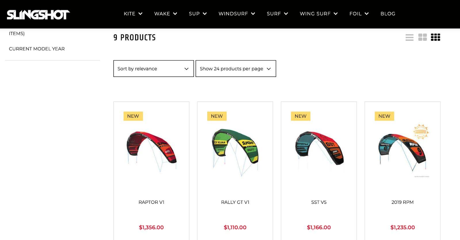top suitecommerce merchandising features multiple view