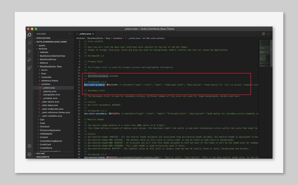 Edit-styles-cms-suitecommerce-tavano-team-code-buttons